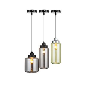 cheap Pendant Lights-QINGMING® 3-Light 50 cm Mini Style / Adjustable Pendant Light Acrylic Glass Shiny Retro 110-120V / 220-240V
