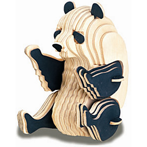 cheap 3D Puzzles-Wooden Puzzle Duck Cat Bear Professional Level Wood 1 pcs Boys' Girls' Toy Gift