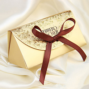 cheap Favor Holders-Creative Card Paper Favor Holder With Favor Boxes-12 Wedding Favors