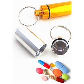 cheap Keychains-Cylindrical Metal Aluminium High Quality For Birthday Key Chain