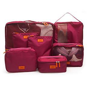 cheap Storage & Organization-Travel Travel Bag Luggage Organizer / Packing Organizer Shoes Bag Travel Storage Waterproof Dust Proof Foldable Fabric Oxford Cloth