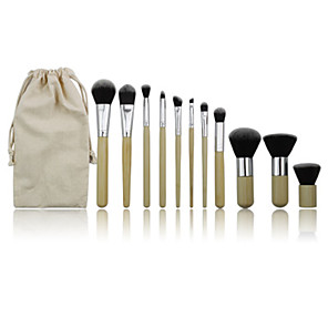 cheap Makeup Brush Sets-Professional Makeup Brushes Makeup Brush Set 11 Portable Professional Synthetic Hair Wood for