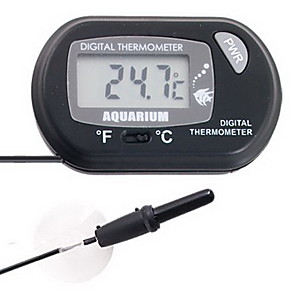 cheap Aquarium Heaters & Thermometers-Digital LCD Fish Aquarium Tank Pond Marine Water Thermometer
