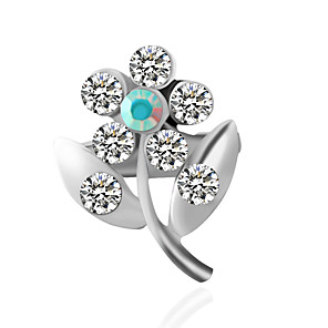 cheap Gifts & Decorations-Women's Brooches Fashion Inspirational Brooch Jewelry Silver For Wedding
