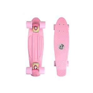 baratos Skate-22 polegadas Cruisers skate PP (Polipropileno) Rosa Claro