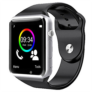 cheap Others-W8 Smart Watch Bluetooth Fitness Tracker Support Notify/ Heart Rate Monitor/ SIM-card Sports Smartwatch Compatible Apple/ Samsung/ Android Phones