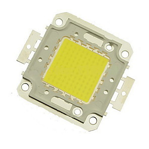 cheap Light Bulbs-ZDM 1PC DIY 100W 8500-9500LM Cold White 6000-6500K  Light Integrated LED Module (DC33-35V 3A) Street Lamp for Projecting Light  Gold Wire Welding of Copper Bracket