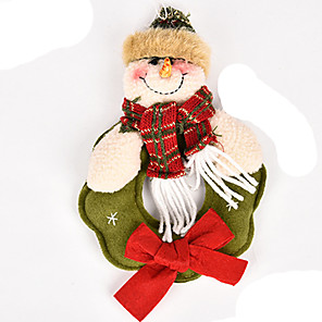 cheap Christmas Toys-Christmas Decorations Santa Suits Elk Snowman Lovely Textile Imaginative Play, Stocking, Great Birthday Gifts Party Favor Supplies Boys' Girls' Adults'