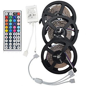cheap LED Strip Lights-Light Sets LED Light Strips RGB Tiktok Lights 900 LEDs 3528 SMD 8mm Remote Control / RC / Cuttable / Dimmable / Linkable / Suitable for Vehicles / Color-Changing / IP44