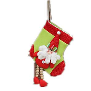 cheap Balloons-Gift Bag Santa Suits Elk Snowman Textile Cloth Boys' Toy Gift 1 pcs