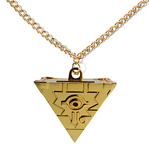 cheap Videogame Cosplay Accessories-Cosplay Accessories Inspired by Yu-Gi-Oh Cosplay Anime Cosplay Accessories Necklace Alloy Halloween Costumes
