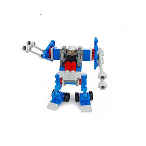 cheap Building Blocks-GUDI GUDI8206A Action Figure Building Blocks Military Blocks Balls Educational Toy Construction Set Toys Warrior Robot Soldier compatible ABS Legoing Cool Chic & Modern Cartoon Boys' Girls' Toy Gift