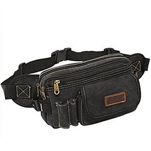 cheap Running Bags-10 L Belt Pouch / Belt Bag Wearable Outdoor Jade Black Khaki