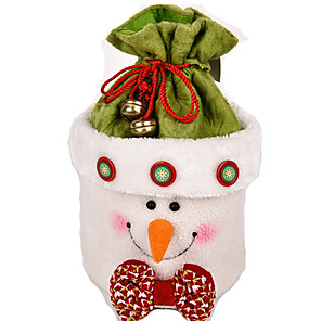 cheap Christmas Toys-Christmas Decorations Santa Suits Elk Snowman Lovely Plush Imaginative Play, Stocking, Great Birthday Gifts Party Favor Supplies Boys' Girls' Adults'