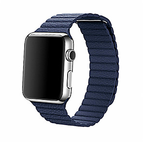 cheap Smartwatch Bands-Watch Band for Apple Watch Series 5/4/3/2/1 Apple Leather Loop Genuine Leather Wrist Strap