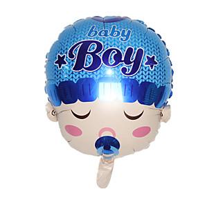 cheap Balloons-Balloon Novelty Aluminium Boys' Girls' Toy Gift 1 pcs
