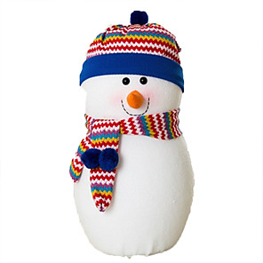 cheap Christmas Toys-Christmas Decorations Snowman Lovely Plush Imaginative Play, Stocking, Great Birthday Gifts Party Favor Supplies Boys' Girls' Adults'