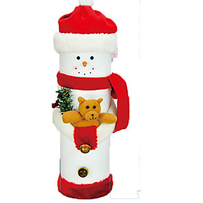 cheap Christmas Toys-Christmas Decorations Santa Suits Snowman Lovely Textile Imaginative Play, Stocking, Great Birthday Gifts Party Favor Supplies Boys' Girls' Adults'