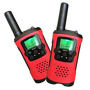 cheap Doorbell Systems-T48 Handheld / Anolog VOX / Encryption / Auto-Transpond 5KM-10KM 5KM-10KM 22Channels 1200mAh 0.5W Walkie Talkie Two Way Radio