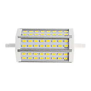 cheap Historical & Vintage Costumes-1pc 15 W Tube Lights 1200 lm R7S T 48 LED Beads SMD 5730 Dual-Head Warm White Cold White 85-265 V / 1 pc / RoHS
