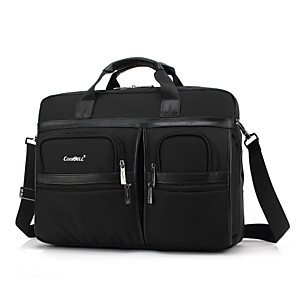 """cheap Video Door Phone Systems-Coolbell 17"""" Laptop Shoulder Messenger Bag Textile Solid Color for Business Office for Colleages & Schools for Travel Shock Proof"""