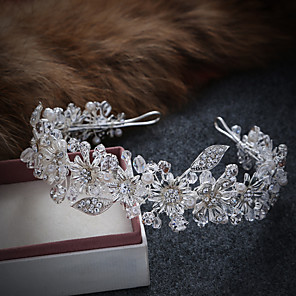 cheap Wedding Shoes-Imitation Pearl / Alloy Tiaras / Headbands / Wreaths with 1 Wedding / Special Occasion / Casual Headpiece