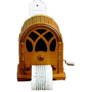 cheap Music Boxes-Music Box Wooden Music Box Antique Music Box Unique Wood Women's Boys' Girls' Kid's Adults Graduation Gifts Toy Gift