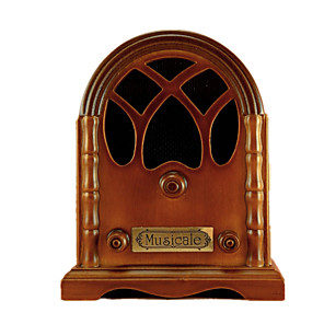 cheap Music Boxes-Music Box Wooden Music Box Antique Music Box Vintage Sweet Special Retro Creative Sound Novelty Unique Wood Women's Boys' Girls' Kid's Adults Graduation Gifts Toy Gift
