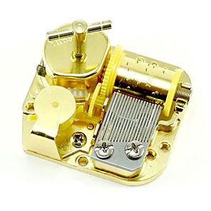 cheap Music Boxes-Music Box Wind-up Toy Classic Sweet Special Creative Sound Novelty DIY Unique Metalic Women's Boys' Girls' Kid's Adults Graduation Gifts Toy Gift