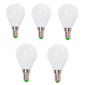cheap Ceiling Lights-EXUP® 5pcs 7 W LED Globe Bulbs 800 lm E14 E26 / E27 G45 12 LED Beads SMD 2835 Decorative Warm White Cold White 220-240 V 110-130 V / 5 pcs / RoHS / CCC / ERP / LVD