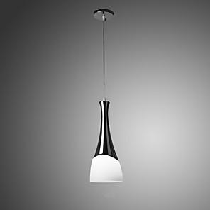 cheap Pendant Lights-1-Light 14 cm Designers Pendant Light Glass Glass Chrome Modern Contemporary 110-120V / 220-240V