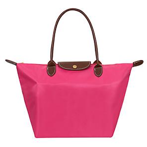 cheap Handbag & Totes-Women's Nylon Tote Solid Colored Azure / Black / Purple
