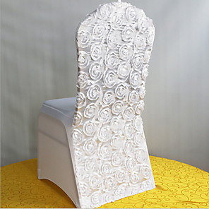 cheap Wedding Decorations-Chair Sash Polyester Wedding Decorations Wedding / Party Classic Theme All Seasons