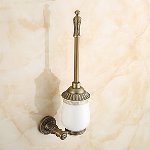 cheap Faucet Accessories-Toilet Brush Holder Antique Brass 1 pc - Hotel bath