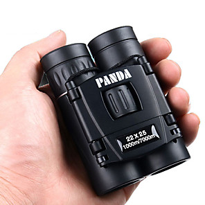 cheap Test, Measure & Inspection Equipment-PANDA 22 X 25 mm Binoculars Lenses Pocket Size High Definition, Generic, Carrying Case Multi-coated BAK4 Night Vision Rubber / Hunting