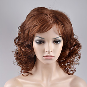 cheap Synthetic Trendy Wigs-Synthetic Wig Loose Wave Loose Wave Wig Blonde Short Blonde Synthetic Hair Women's Blonde
