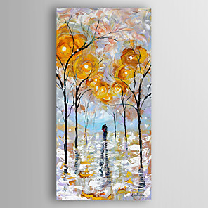 cheap Abstract Paintings-Hand-Painted  Abstract Canvas Oil Painting With Stretcher For Home Decoration Ready to Hang