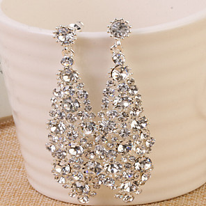 cheap Earrings-Women's Hoop Earrings Earrings Jewelry Gold / Silver For Wedding Party Halloween