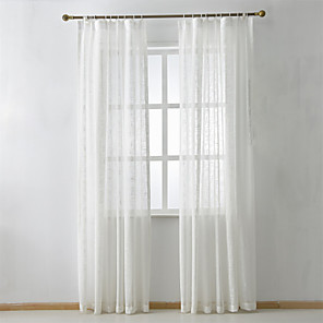 cheap Sheer Curtains-Custom Made Eco-friendly Curtains Drapes Two Panels For Bedroom