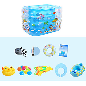 cheap Building Blocks-Ball Pool Inflatable Pool Summer Pool Kid's Adults'