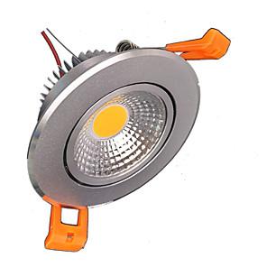 cheap LED Smart Home-ZDM® 1pc 5 W LED Spotlight 500-600 lm 1 LED Beads COB Decorative Warm White Cold White 85-265 V / 1 pc / RoHS