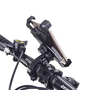 cheap Mounts & Holders-HiUmi Bike Phone Mount Adjustable Non-Skid For Cellphone Anti Shake Stable For Road Bike Mountain Bike MTB BMX TT Folding Bike Cycling Bicycle ABS 1 pcs