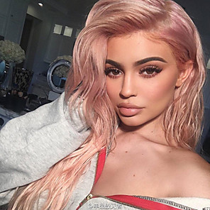 cheap Synthetic Lace Wigs-Synthetic Lace Front Wig Natural Wave Natural Wave Lace Front Wig Very Long Red Synthetic Hair Women's Heat Resistant Natural Hairline Middle Part Red