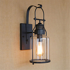 cheap Indoor Wall Lights-Rustic / Lodge / Country / Retro Wall Lamps & Sconces Metal Wall Light 110-120V / 220-240V 40W
