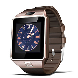 cheap Smartwatches-Smartwatch for iOS / Android Hands-Free Calls / Touch Screen / Camera / Pedometers / Passometer Stopwatch / Activity Tracker / Sleep Tracker / Sedentary Reminder / Find My Device / 64MB / 50-72