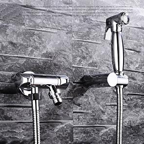 cheap Bath Body Care-Vintage Hand Shower Chrome Feature - Eco-friendly, Shower Head