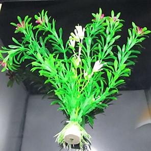 cheap Aquarium Décor & Gravel-Fish Tank Aquarium Decoration Waterplant Non-toxic & Tasteless Plastic