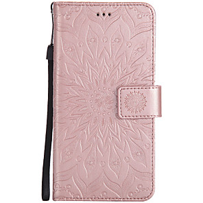 cheap Other Phone Case-Case For Wiko Wiko Lenny 3 / Wiko Lenny 2 Wallet / Card Holder / with Stand Full Body Cases Mandala Hard PU Leather