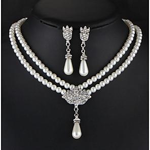 povoljno Komplet nakita-Žene Komplet nakita Stilski Naušnice Jewelry Obala Za Vjenčanje Party Special Occasion Dnevno Kauzalni