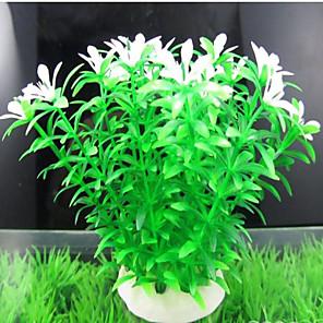 cheap Aquarium Décor & Gravel-Fish Tank Aquarium Decoration Waterplant Non-toxic & Tasteless Plastic 1 pc